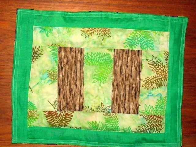Handmade place mats