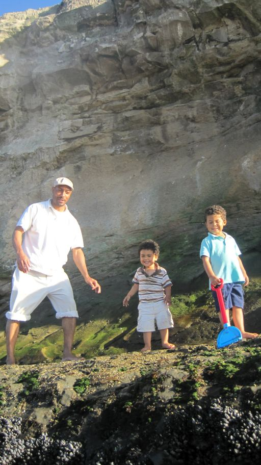 Natural bridges with abba and the boys